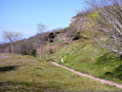 Offa's Dyke fromLlanymynech to Chirk Mill