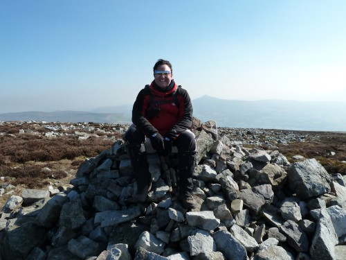 First Pile Of Rocks On The Ascent Up To Pen Cerrig-calch