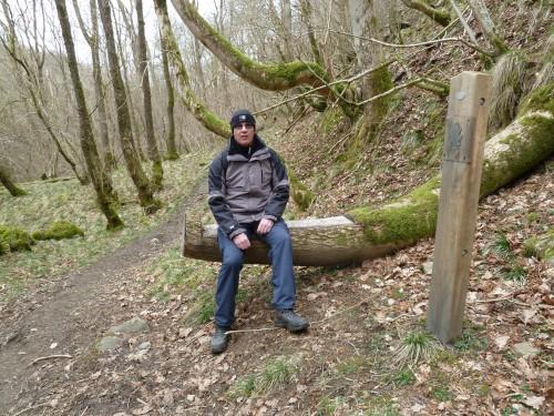 Stopping off at Craig Llech near Henrhyd Falls