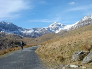 The Start of the Miners Track in Snowdon