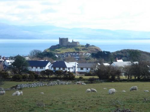 Criccieth Castle, Cardigan Bay, Afon Dwyfor, Wales