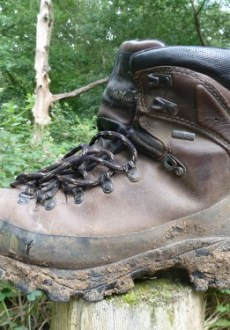 The North Face Jannu II GTX Technical Hiking Boot ready for action in Epping Forest