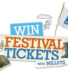 Win Festival Tickets With Millets