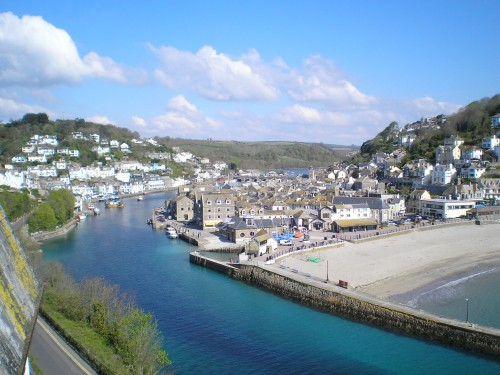 Looe Harbour Working Port Cornwall Walks Looe Walking Route