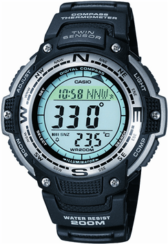 Casio SGW 100 1VEF Best Hiking Watch