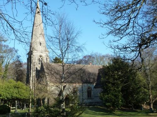 Walks And Walking - Essex Walks Epping Forest -  High Beach Church