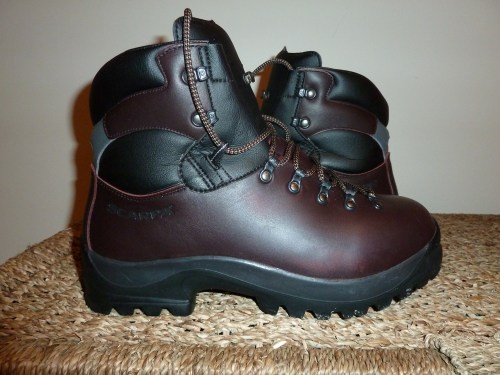 Walks And Walking - My New Scarpa Walking Boots