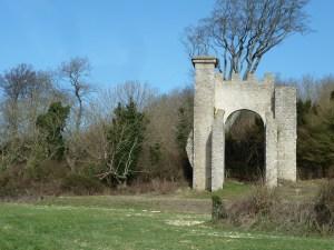 Walks And Walking - West Sussex Walks Slindon Estate National Trust Walking Route - Flint Folly