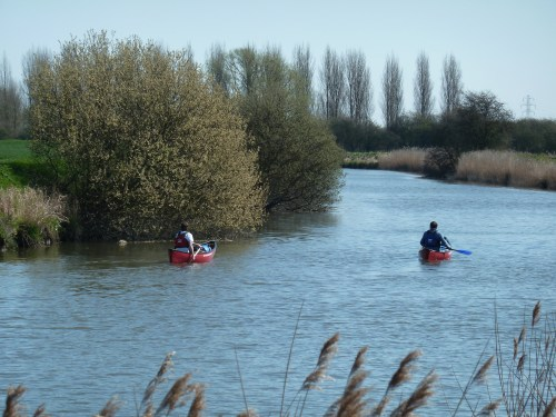 Walks And Walking - Kent Walks Sturry To Sandwich Walking Route - River Stour Canoeists