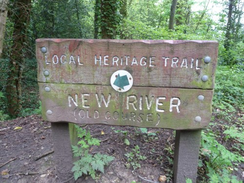 Walks And Walking - Hertfordshire Walks Forty Hall Enfield Walking Route - Local Heritage Trail New River