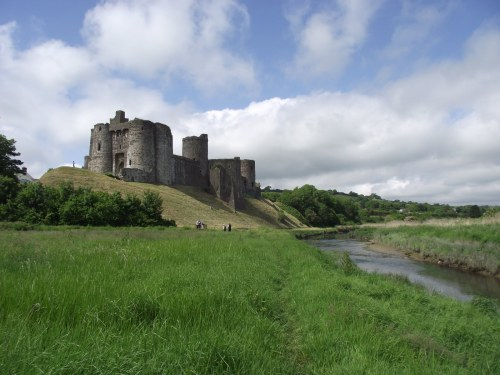 Walks And Walking - The Wales Coast Path With Saga Walking Holidays - Laugharne Castle