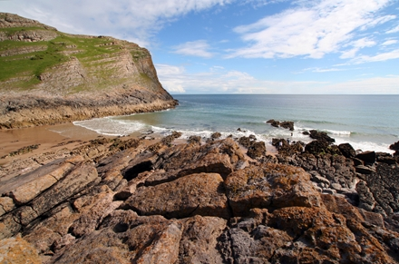 Walks And Walking - The Wales Coast Path With Saga Walking Holidays - The Gower Peninsula