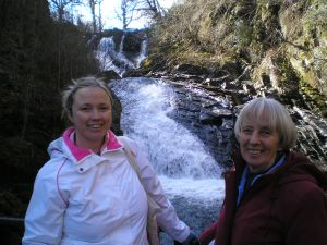 Walks And Walking - Wales Walks Snowdonia Betws-y-Coed Walking Route - Swallow Falls
