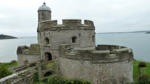 Walks And Walking - Cornwall Walks St Mawes Castle Walking Route - St Mawes Castle