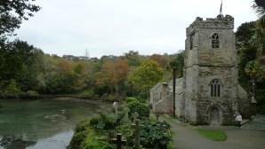 Walks And Walking - St Just Church Roseland Cornwall