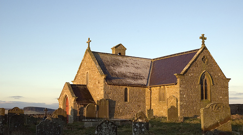 Walks And Walking - Churches Conservation Trust Top 10 Church Walks - St Andrews Hilltop to Reservoir Walk Northumberland