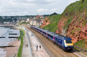 Explore the best of the South West coast with new Rail Trails - Dawlish train journey