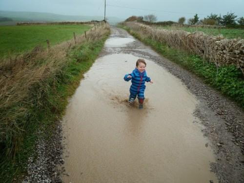 Walks And Walking - Weymouth Walks Langton Herring Walking Route - Tedi Muddy Puddles