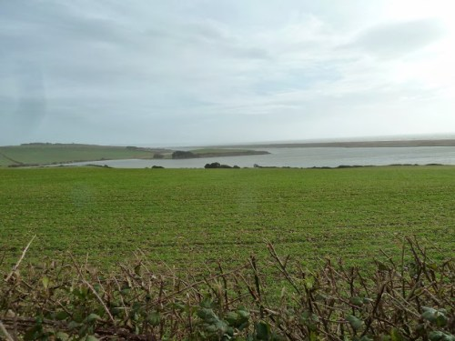 Walks And Walking - Weymouth Walks Langton Herring Walking Route - Views Over Fleet Lagoon Nature Reserve
