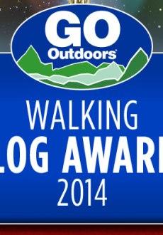 2014 GO Outdoors independent walking blog awards