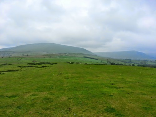 Walks And Walking - Hay Bluff Walking Route - Hay Bluff On The Left Hand Side