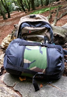 Walks And Walking - Pro Force Phantom Camo 250 Sleeping Bag - Easy Carry