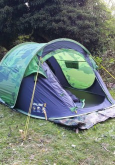 Regatta Malawi 2 Man Pop-Up Tent from Outdoor Camping Direct - Front