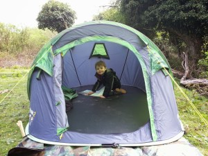 Regatta Malawi 2 Man Pop-Up Tent from Outdoor Camping Direct - Inside