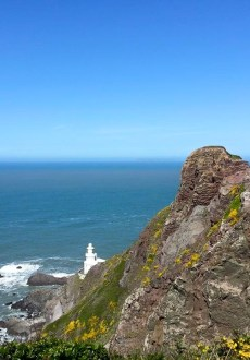 Walks And Walking - Hartland Walk in Devon - Hartland Point Lighthouse