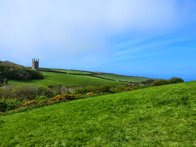 Walks And Walking - Morwenstow Walk In Cornwall - Open Fields