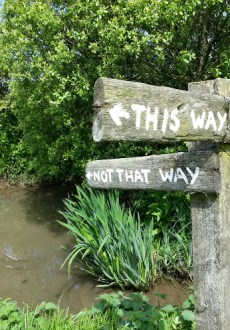 Walks And Walking - Morwenstow Walk In Cornwall - This way not that way