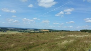 Walks And Walking - Etchinghill Walk In Kent - Farthing Common Viewpoint