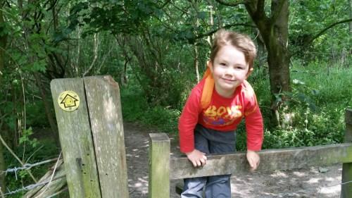 Walks And Walking - Newington Walk In Kent - Elham Valley Way