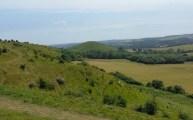 Walks And Walking - Newington Walk In Kent - Tolsford Hill