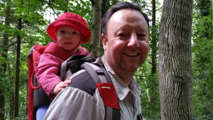 David and Rose on our family walking adventure with HF Holidays