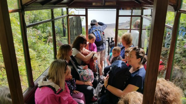 HF Holidays 4 Mile Family Circular Walk In Lynmouth - Cliff Railway