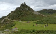 HF Holidays 4 Mile Family Circular Walk In Lynmouth - Valley of Rocks - Castle Rock