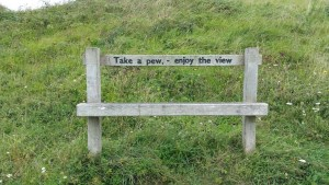 Walks And Walking - Dover Priory To Folkestone West Walk In Kent - Take A Pew and Enjoy The View