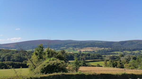 HF Holidays 7 Mile Linear Easy Walk to Dunster - View From The White Church