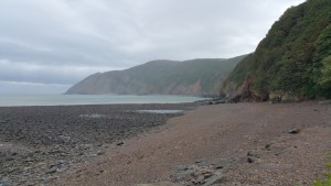 HF Holidays 8 Mile Linear Hard Walk to Lynmouth - Lynmouth Beach