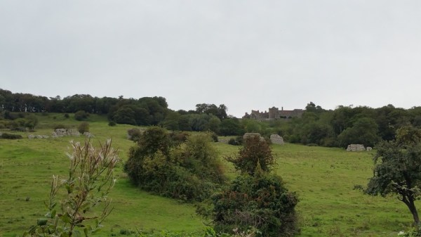 Walks And Walking - West Hythe Walk In Kent - Lympne Castle