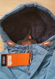 Vintage Over the Head Sherpa Jacket - Hood