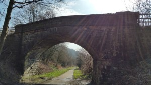 Darwin Forest Country Park Walks - Bakewell To Chatsworth House - Bridge Down To The Monsal Trail