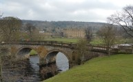 Darwin Forest Country Park Walks - Bakewell To Chatsworth House - View From The Bridge