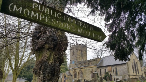 Darwin Forest Country Park Walks - Elam To Abney - Eyam Church