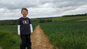 Walks And Walking - Bishopsbourne Walk In Kent - Crows Camp