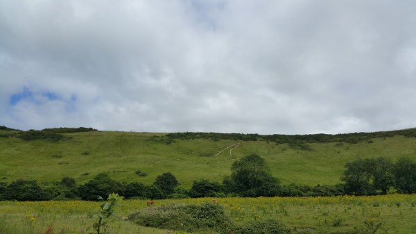 Walks And Walking - Peene Quarry Country Park Walk in Kent - Folkestone White Horse