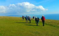HF Holidays Guided Walk - The Needles Circular Walking Route - Tennyson Down