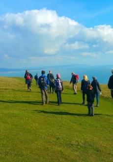 HF Holidays Guided Walk - The Needles Circular Walking Route - Tennyson Down