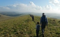 HF Holidays Guided Walk – Carisbrooke Castle Walking Route - Limerstone Down Ridgeway